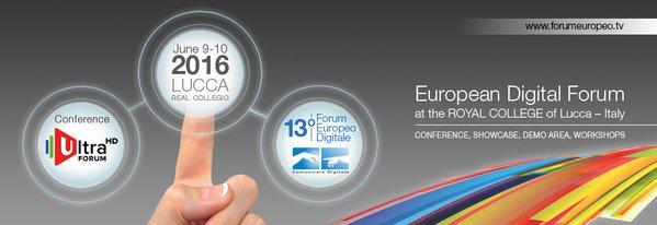 European Digtial Forum 2016